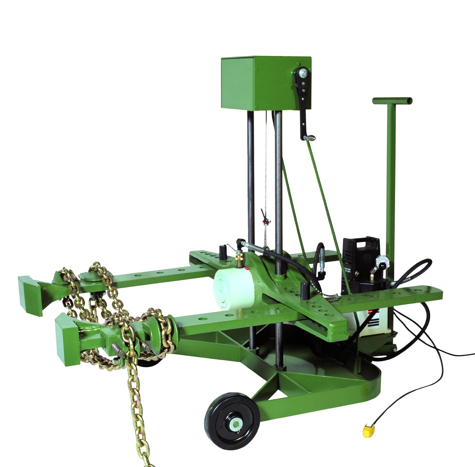 Electric Hydraulic Ram Cylinder Wiring Diagram Master Blogs Wheel Mount Units Industrial Pulley Puller Of Rebuild Repair